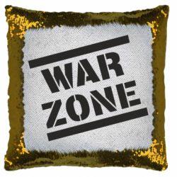 Подушка-хамелеон War Zone