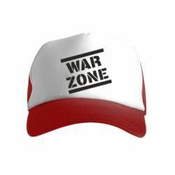 Дитяча кепка-тракер War Zone