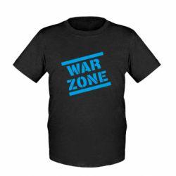 Дитяча футболка War Zone