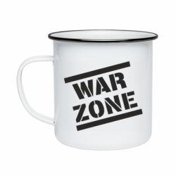 Кружка емальована War Zone
