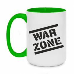 Кружка двоколірна 420ml War Zone