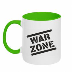 Кружка двоколірна 320ml War Zone