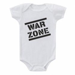 Дитячий бодік War Zone