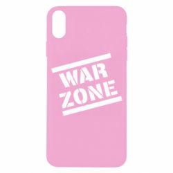 Чохол для iPhone X/Xs War Zone