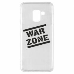Чохол для Samsung A8 2018 War Zone