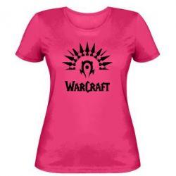 Женская футболка WarCraft Logo - FatLine