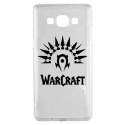 Чехол для Samsung A5 2015 WarCraft Logo