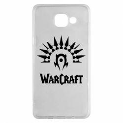 Чехол для Samsung A5 2016 WarCraft Logo