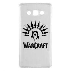 Чехол для Samsung A7 2015 WarCraft Logo