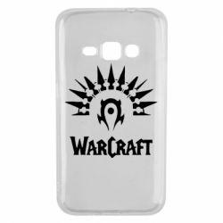 Чехол для Samsung J1 2016 WarCraft Logo