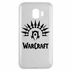 Чехол для Samsung J2 2018 WarCraft Logo