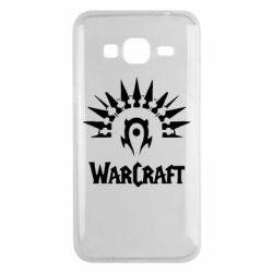 Чехол для Samsung J3 2016 WarCraft Logo