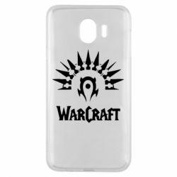 Чехол для Samsung J4 WarCraft Logo