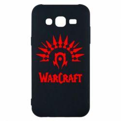 Чехол для Samsung J5 2015 WarCraft Logo