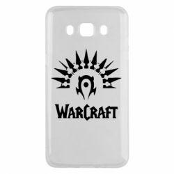 Чехол для Samsung J5 2016 WarCraft Logo