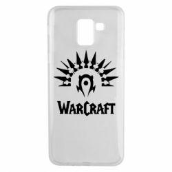 Чехол для Samsung J6 WarCraft Logo