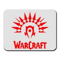 Коврик для мыши WarCraft Logo - FatLine