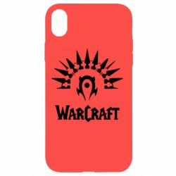 Чехол для iPhone XR WarCraft Logo