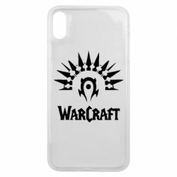 Чехол для iPhone Xs Max WarCraft Logo
