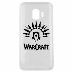 Чехол для Samsung J2 Core WarCraft Logo