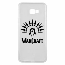 Чехол для Samsung J4 Plus 2018 WarCraft Logo
