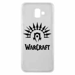 Чехол для Samsung J6 Plus 2018 WarCraft Logo