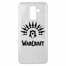 Чехол для Samsung J8 2018 WarCraft Logo