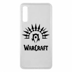 Чехол для Samsung A7 2018 WarCraft Logo
