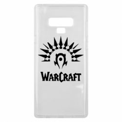 Чехол для Samsung Note 9 WarCraft Logo