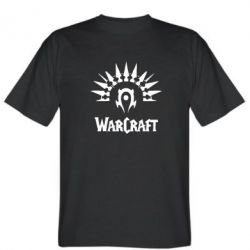 Мужская футболка WarCraft Logo - FatLine