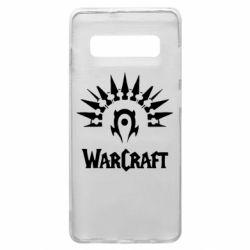 Чехол для Samsung S10+ WarCraft Logo