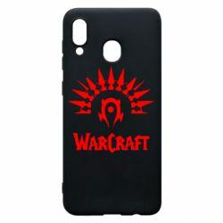 Чехол для Samsung A30 WarCraft Logo