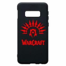 Чехол для Samsung S10e WarCraft Logo