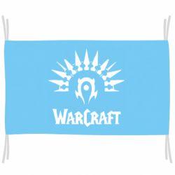 Флаг WarCraft Logo