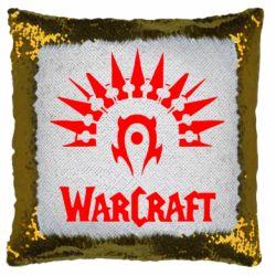 Подушка-хамелеон WarCraft Logo