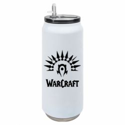 Термобанка 500ml WarCraft Logo