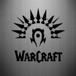 Наклейка WarCraft Logo - FatLine