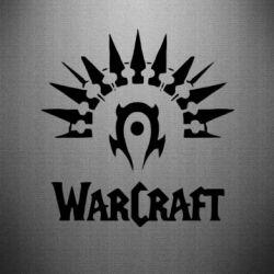 Наклейка WarCraft Logo