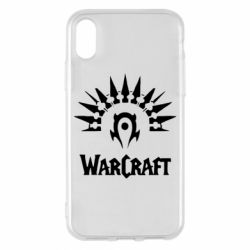 Чехол для iPhone X/Xs WarCraft Logo