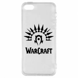 Чехол для iPhone5/5S/SE WarCraft Logo
