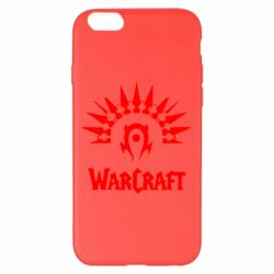 Чехол для iPhone 6 Plus/6S Plus WarCraft Logo