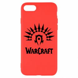Чехол для iPhone 8 WarCraft Logo
