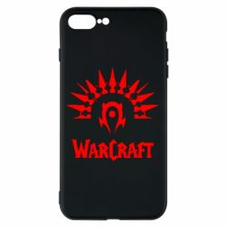 Чехол для iPhone 8 Plus WarCraft Logo