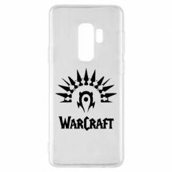 Чехол для Samsung S9+ WarCraft Logo
