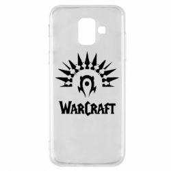 Чехол для Samsung A6 2018 WarCraft Logo