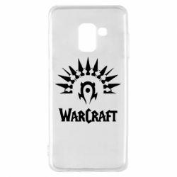 Чехол для Samsung A8 2018 WarCraft Logo