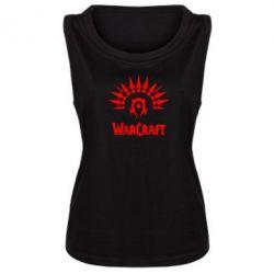 Женская майка WarCraft Logo - FatLine
