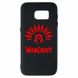 Чехол для Samsung S7 WarCraft Logo