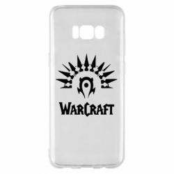 Чехол для Samsung S8+ WarCraft Logo