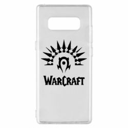 Чехол для Samsung Note 8 WarCraft Logo
